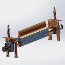 天地西北煤机生产 带宽500-2200 二道聚氨酯清扫器 带式输送机