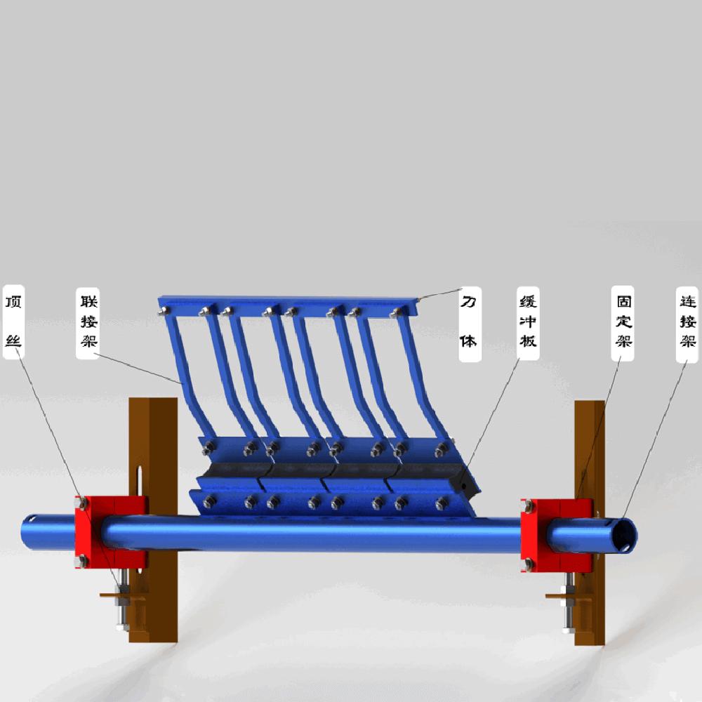 H型橡胶合金清扫器 DX系列 带宽800-2000 价格需洽谈 用于带式输送机